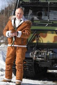В Британии пристально следят во что одевается Путин
