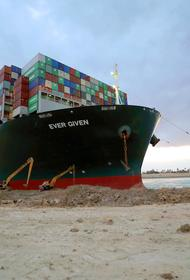 Навигацию на Суэцком канале полностью восстановят через три с половиной дня