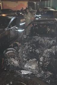 В Подмосковье неизвестные спалили дотла автомобиль популярного спортивного журналиста. Что это - случайность или месть?