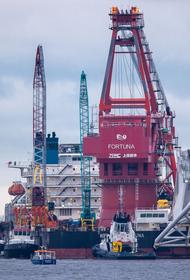 Трубопровод «Северного поток – 2» завершён на 95%