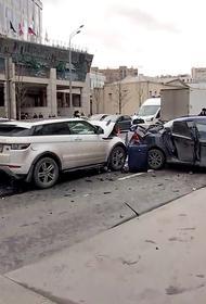 Автомобиль, из-за которого произошло ДТП на Садовом кольце, более 400 раз нарушал скоростной режим