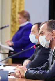 Губернатор Кубани поучаствовал в пленарном заседании Общественной палаты
