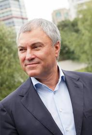 Вячеслав Володин призвал обсудить исключение Украины из Совета Европы
