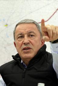 Глава МО Турции обвинил адмиралов в подрыве морального духа турецких солдат