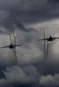 Российская боевая авиация третьи сутки подряд бомбит в Сирии формирования «чёрного халифата»
