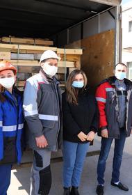 Молодежь ВгАЗа обеспечила топливом котельную школы-интерната