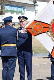 Командующий ВДВ вручил Георгиевское знамя новому командиру Уссурийского отдельного десантного соединения