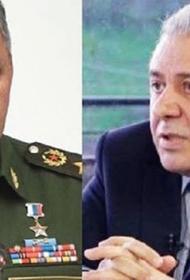Шойгу провел переговоры с министром обороны Армении