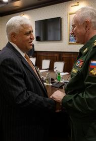 Генерал-полковник Фомин встретился с главой народного ополчения Ирака Фалехом Файядом