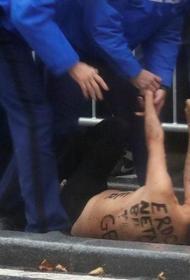 Представительницы Femen осуждены за эксгибиционизм  во время проезда кортежа Трампа в Париже
