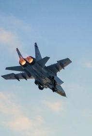 Cамолет-разведчик ВВС США был перехвачен российским МиГ-31 над Тихим океаном