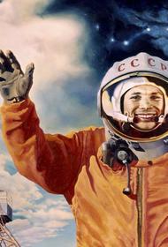 Портрет Юрия Гагарина появился 12 апреля на самой высокой башне мира