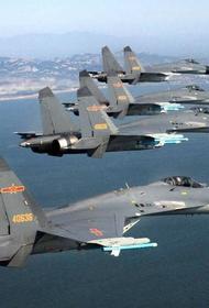 25 боевых самолётов НОАК вторглись в зону опознавания ПВО Тайваня
