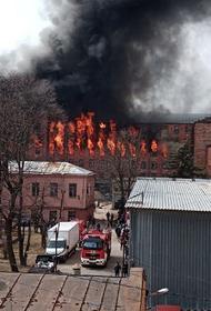 Для руководителей сгоревшей «Невской мануфактуры» в Петербурге потребовали ареста