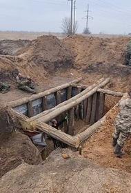 Ополчение Донбасса спешно ведет инженерные работы по созданию второго эшелона обороны