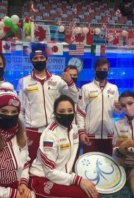 Сборная России выиграла командный ЧМ по фигурному катанию в Японии