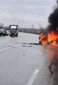Водитель погиб при ДТП в Хабаровском крае