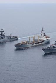 Отряд кораблей Балтфлота РФ вышел в Атлантический океан