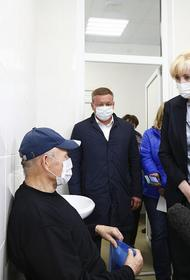 Анна Минькова посетила пункты вакцинации от COVID-19 в Динском районе Кубани