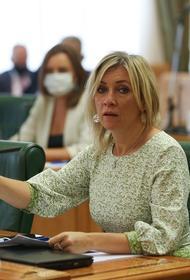 Мария Захарова прокомментировала  реакцию США на слова Владимира Путина о «Шерхане» и «Табаки»