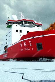 Китай заходит в Арктику