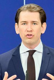 Канцлер Австрии Курц выступил против введения дополнительных санкций ЕС в отношении России