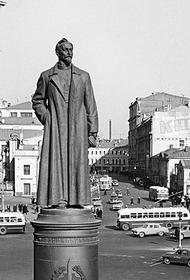 Прокуратура признала незаконным демонтаж памятника Дзержинскому на Лубянской площади в Москве