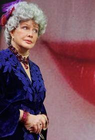 Вдова Олега Табакова Марина Зудина назвала Елену Проклову, раскрывшую «секрет на миллион», пожилой женщиной