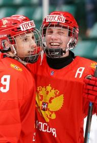 Российские юниоры крупно проигрывая, вырвали победу у хоккеистов США