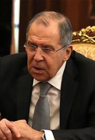 Лавров: Для президента Украины Владимира Зеленского главное – удержаться у власти