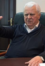 Кравчук по видеосвязи рассказал жителям ДНР - когда закончится война в Донбассе