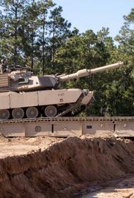 Опубликовано видео уничтожения хуситами американского M1 Abrams из российского комплекса «Конкурс»