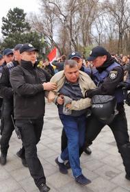 Украинская полиция завела уголовное дело на одессита за ношение российской символики