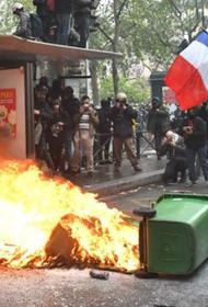 Первомай 2021-го выдался агрессивным для Франции и Бельгии
