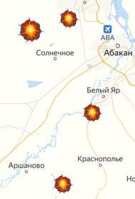 В Хакасии продолжается добыча угля открытым способом, ведутся взрывные работы