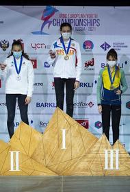 Южноуральская спортсменка стала лучшей на первенстве Европы по скалолазанию