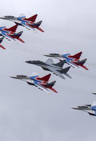 6 мая 30-летие отмечает группа высшего пилотажа «Стрижи»