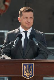 Зеленский поблагодарил госсекретаря США за «мощную санкционную политику» в отношении РФ