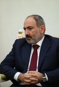 Пашинян: войну в Карабахе спровоцировала покупка Арменией у России истребителей СУ-30СМ