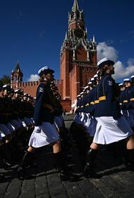 На Красной площади прошла генеральная репетиция Парада Победы