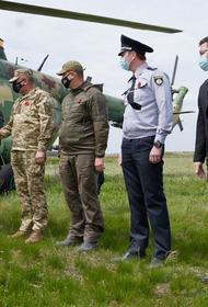 Владимир Зеленский прибыл в Донбасс с послами Евросоюза