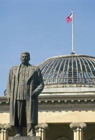В грузинском городе Гори, родине Сталина потребовали «перенаправить политическую стрелу в направлении России»