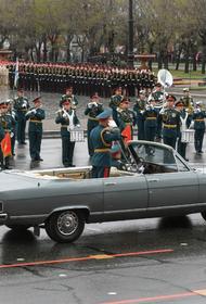 Более 3,5 тысячи военных стали участниками парада Победы в Хабаровске