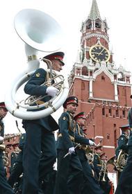 Опубликованы первые кадры с парада Победы в Москве