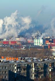 В Челябинске ищут источник дыма и неприятного запаха