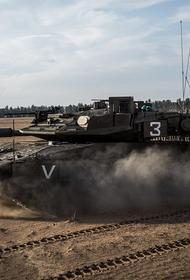 Предположительно российский комплекс «Корнет» на вооружении ХАМАС оторвал башню израильскому танку Merkava