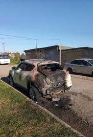 В Крыму сожгли машину бывшего сотрудника «Юкоса»