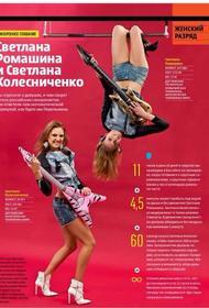 Россиянки-синхронистки Светланы Ромашина и Колесниченко стали победительницами чемпионата Европы