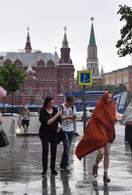 Синоптик Синенков предупредил москвичей о грозе в пятницу