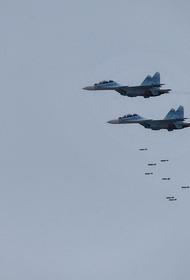 Появилось видео уничтожения ВКС России подземного укрытия джихадистов в сирийском Хомсе